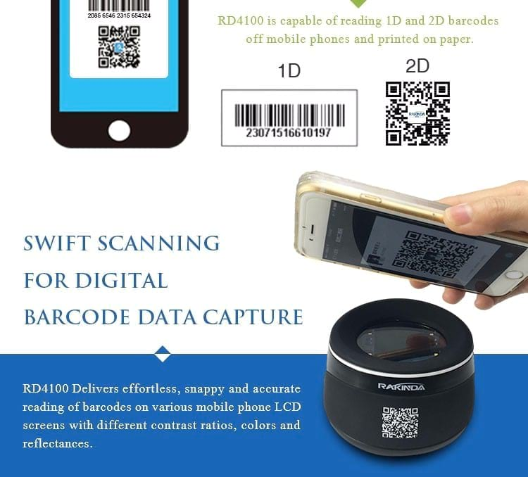 QR Code Scanner - Desktop QR Code Scanner for Mobile Payment