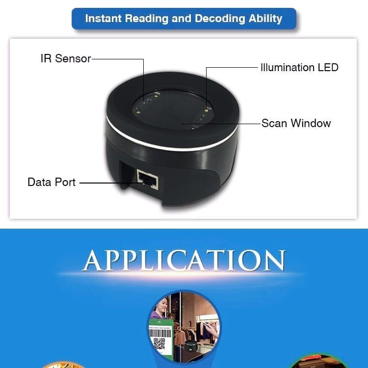 RD4100 QR Code Scanner