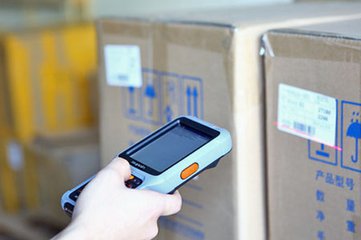 S2 Bar code scanner PDA in logistics and express application