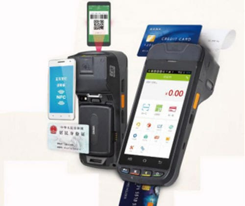 Barcode Scanner Module Embedded Into Hand-held POS Machine