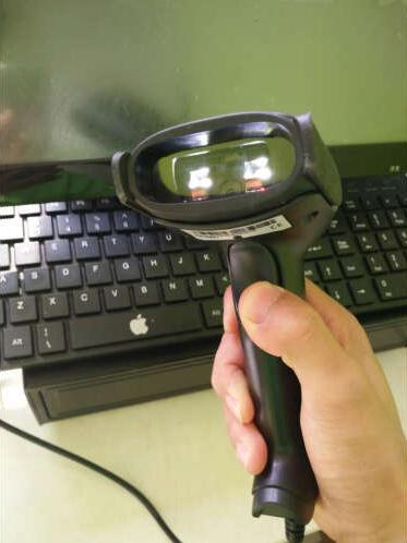 LV1300C Bar code scanner application