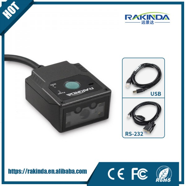 Mini Barcode Scanner LV3000U 2D With External Insulation Board